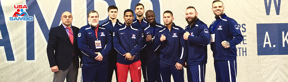 TERRELL AND JOHNSON WIN BRONZE AT THE SAMBO WORLD CUP